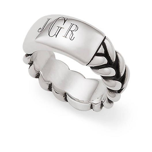 View Larger Image of Engravable Men's Ring