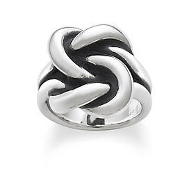 Bold Lovers' Knot Ring