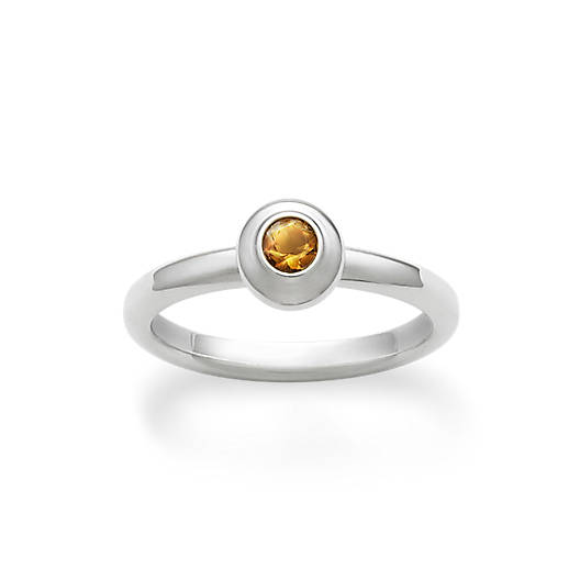 View Larger Image of Avery Remembrance Ring with Citrine