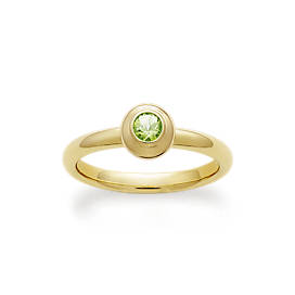 Avery Remembrance Ring with Peridot