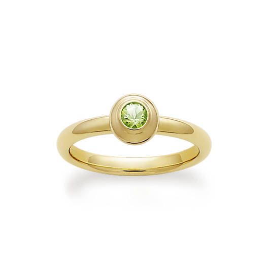 View Larger Image of Avery Remembrance Ring with Peridot