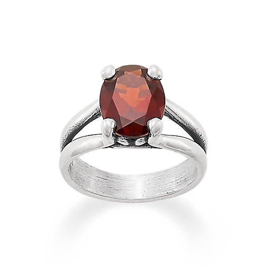 View Larger Image of Oval Garnet Ring