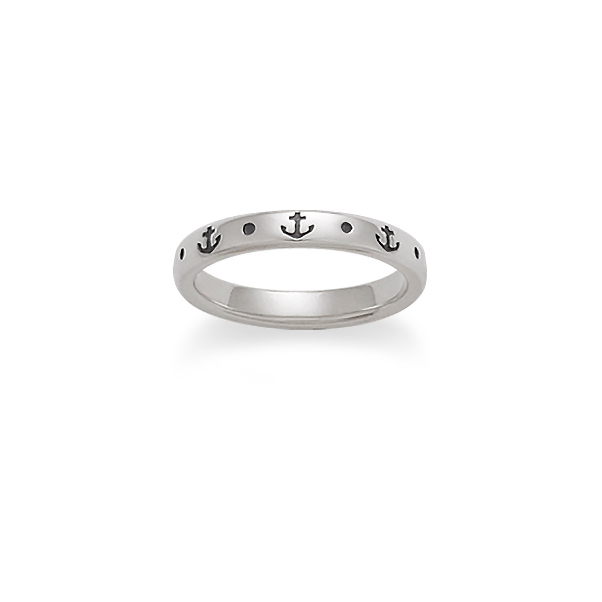 anchor of hope stacked ring - James Avery Wedding Rings