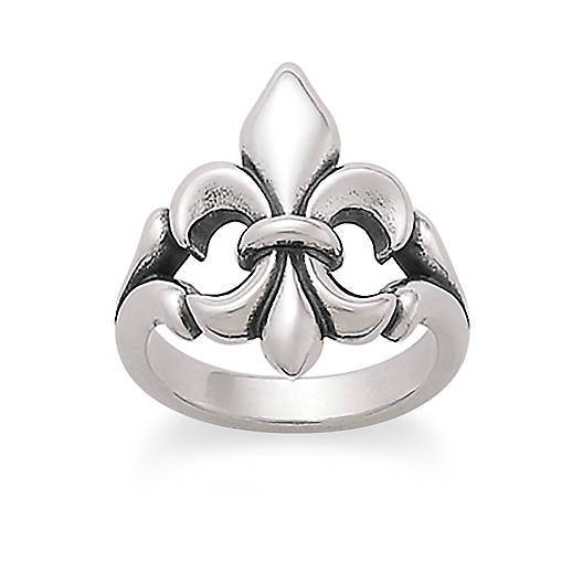 View Larger Image of Fleur-De-Lis Ring