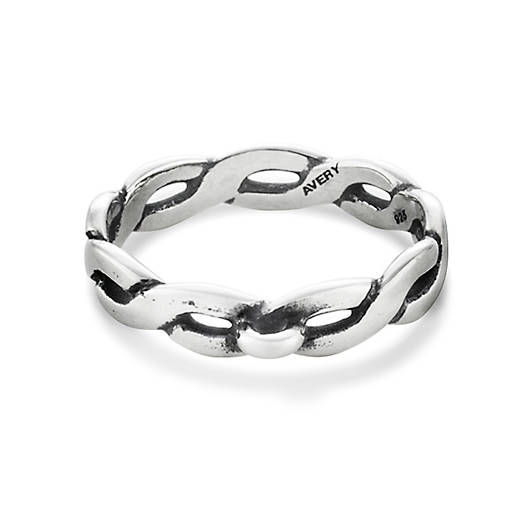 View Larger Image of Twisted Wire Ring with Loop
