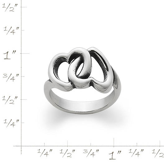 View Larger Image of Linked Hearts Ring