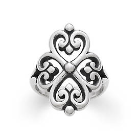 Adorned Hearts Ring