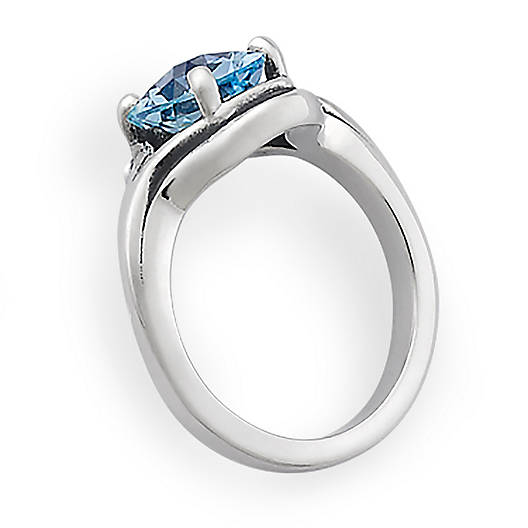 View Larger Image of Adriana Ring with Blue Topaz