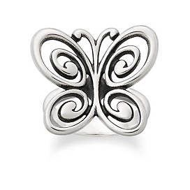 Abounding Spring Butterfly Ring