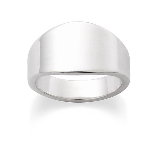 View Larger Image of Tapered Engravable Ring