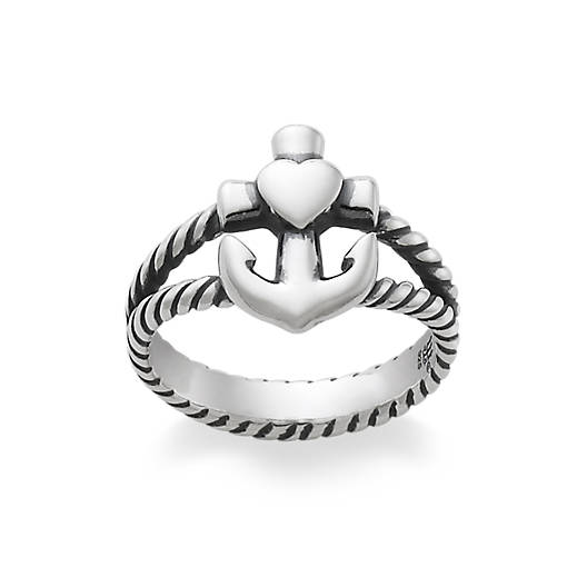 View Larger Image of Faith, Hope & Love Twisted Rope Ring