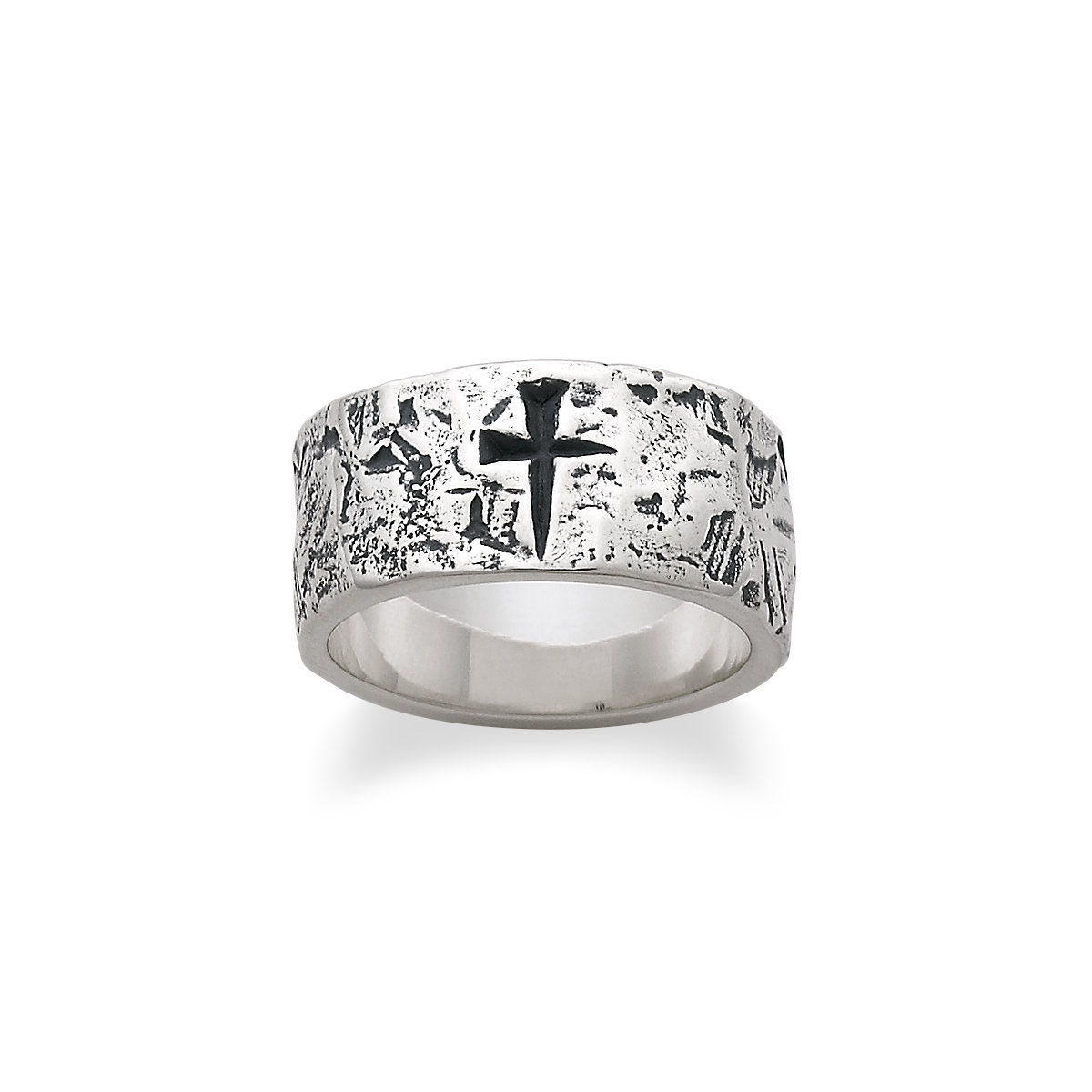 Crossed Wedding Bands.Religious Rings Cross Heart Christian More James Avery