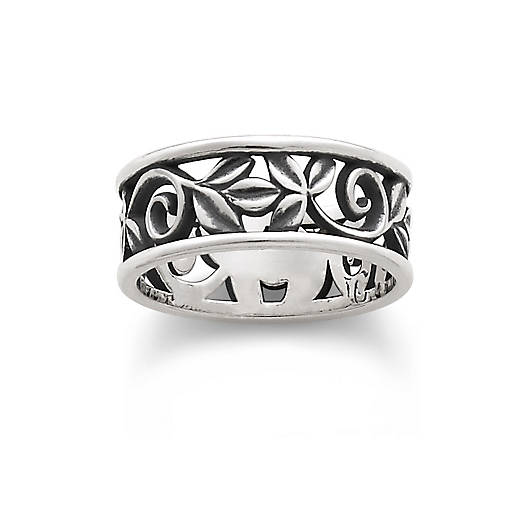 view larger image of abounding vine band - James Avery Wedding Rings