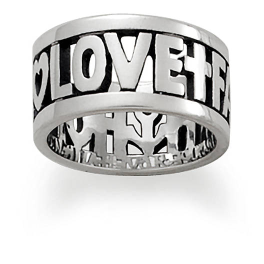 "View Larger Image of ""Faith, Hope & Love"" Ring"