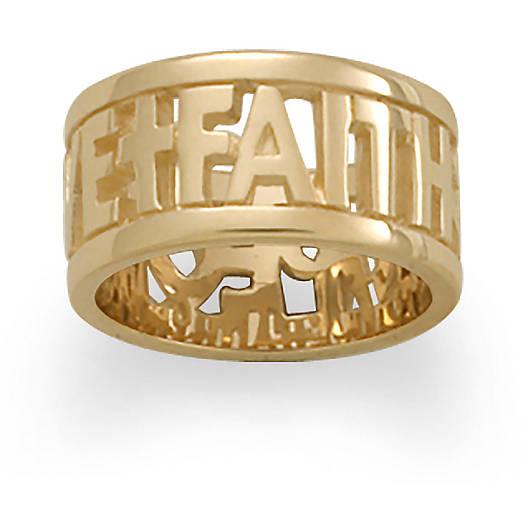 """""""Faith, Hope & Love"""" Ring"""