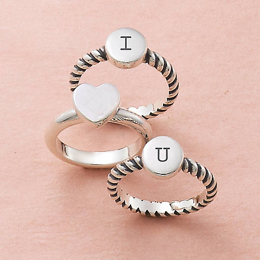 View Larger Image of Engravable Twisted Wire Ring