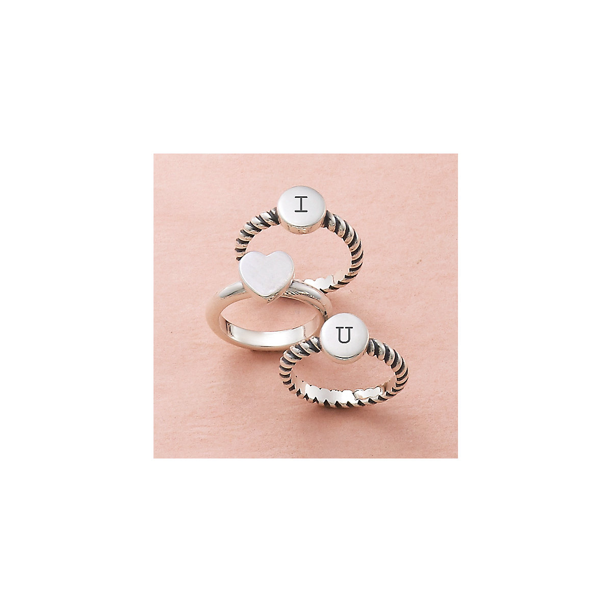 Engravable Twisted Wire Ring - James Avery
