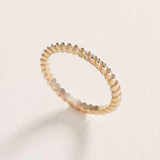 View Larger Image of Small Twisted Wire Ring