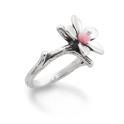 View Larger Image of Pink Blossom Ring