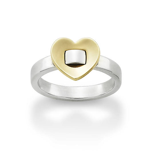 View Larger Image of Golden Heart Ring
