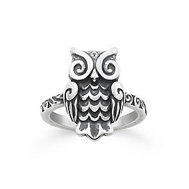 Woodland Owl Ring