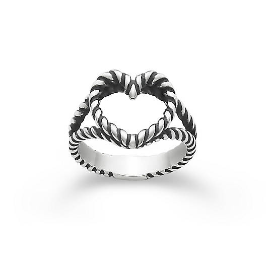Twisted Wire Heart Ring James Avery