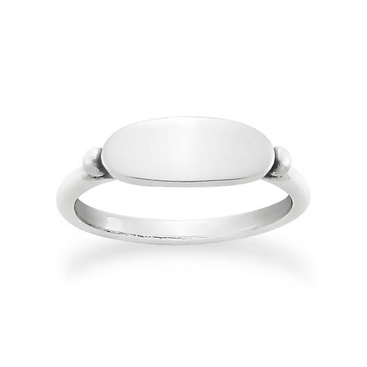 View Larger Image of Simple Signet Ring
