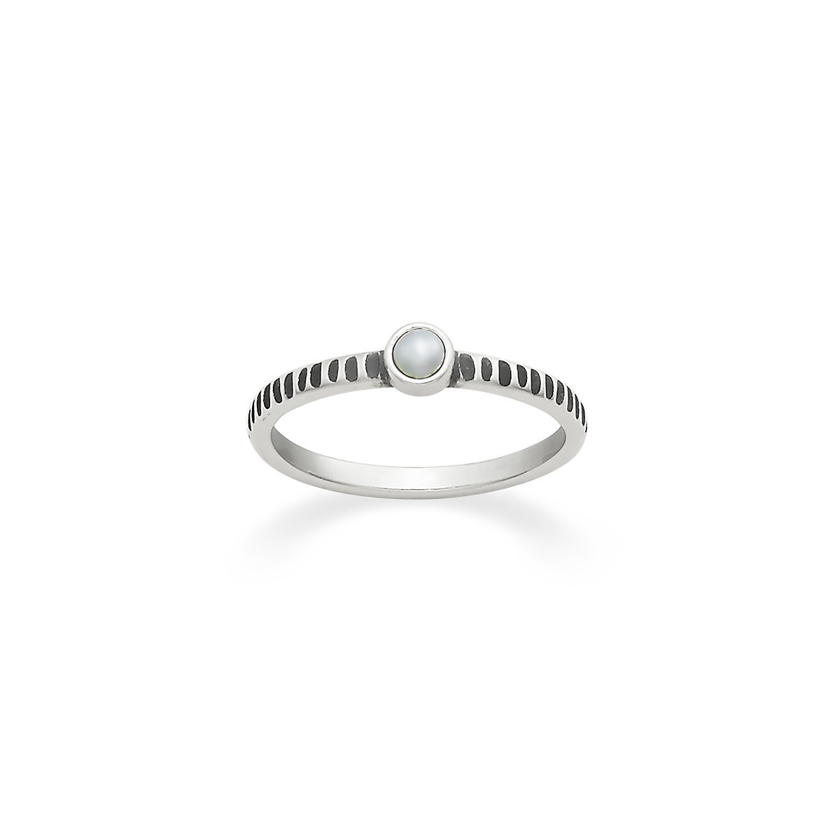 tiny cultured pearl ring - James Avery Wedding Rings