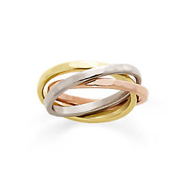 Entwined Trio Combo Ring