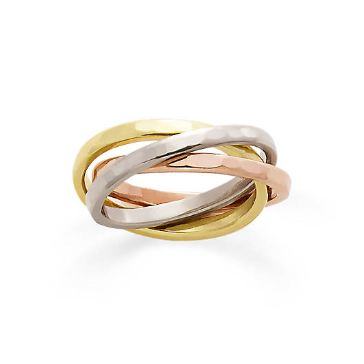 View Larger Image of Entwined Trio Combo Ring
