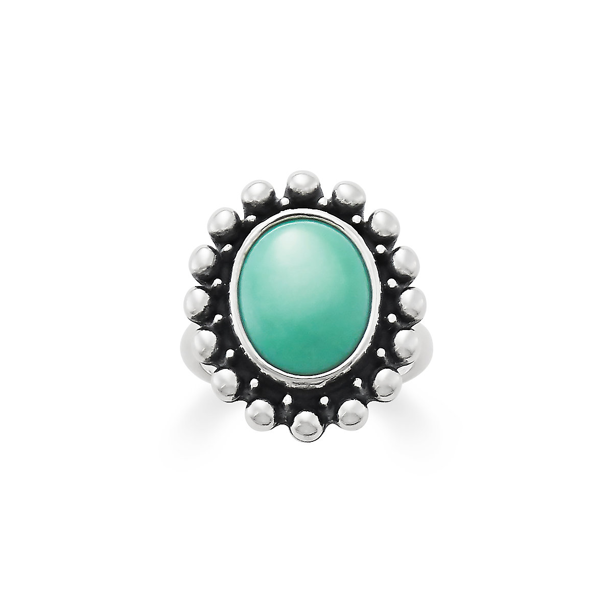 floral cabochon ring vintage detailed rings turquoise