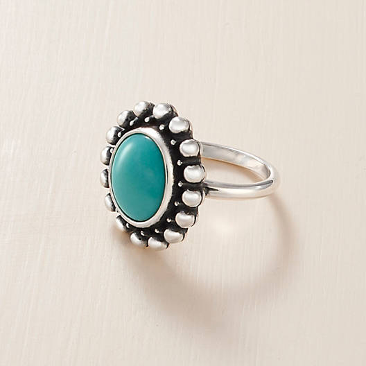 View Larger Image of Santorini Turquoise Ring