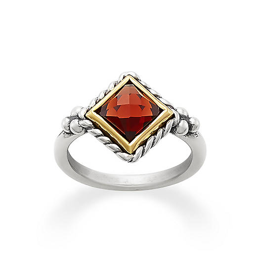 View Larger Image of Alessandra Garnet Ring