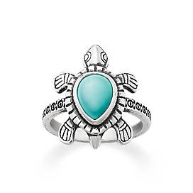 Turquoise Turtle Ring
