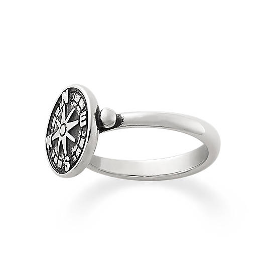 James Avery Compass Ring