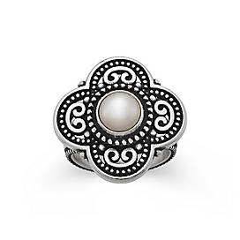 Milano Ring with Cultured Pearl