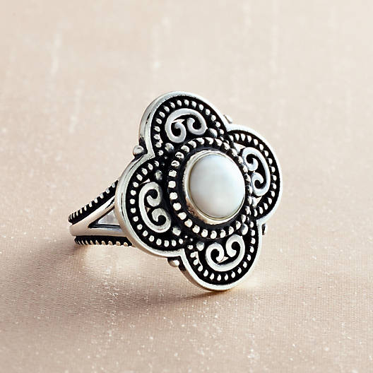 View Larger Image of Milano Ring with Cultured Pearl
