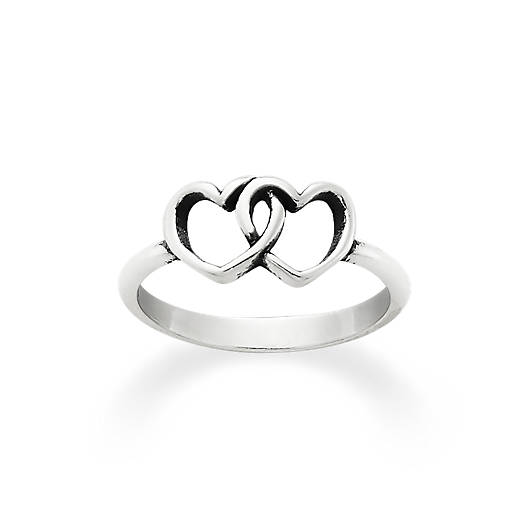 Two Hearts Together Ring