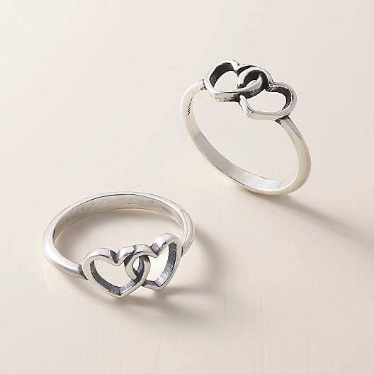 two hearts together ring james avery