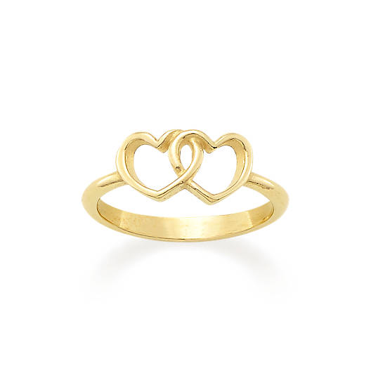 View Larger Image of Two Hearts Together Ring
