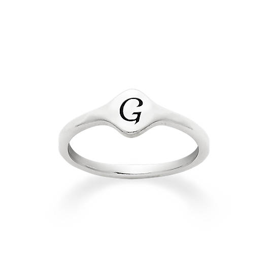 View Larger Image of Petite Signet Ring