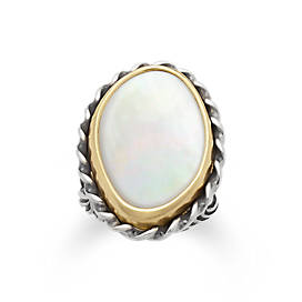 Alessandra Mother of Pearl Ring
