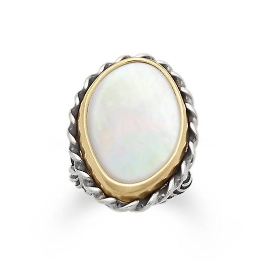 View Larger Image of Alessandra Mother of Pearl Ring