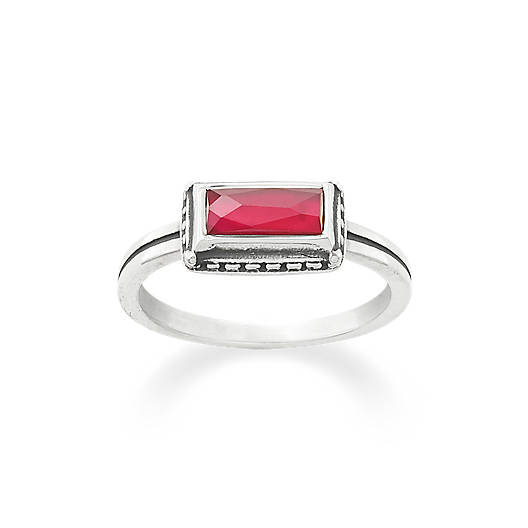 Palais Rouge Doublet Ring