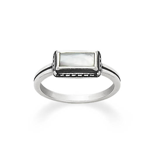 Palais Blanc Doublet Ring