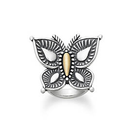 Beaded Mariposa Ring