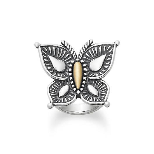 Beaded Mariposa Ring