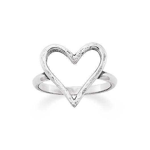 View Larger Image of Fearless Heart Ring