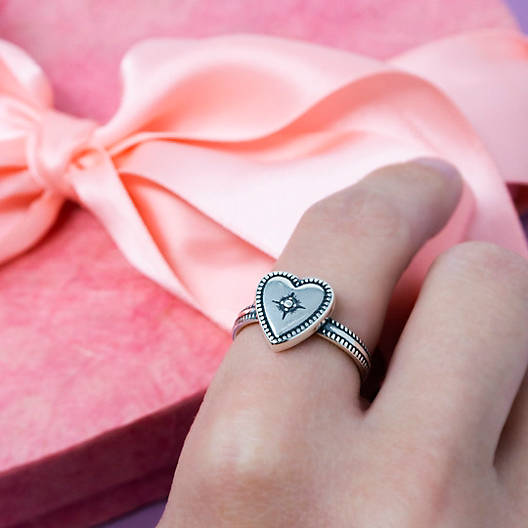 View Larger Image of Vintage Heart Ring