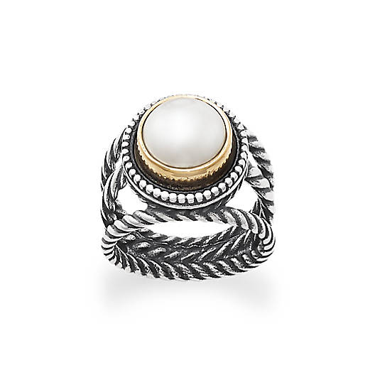 View Larger Image of Marjan Cultured Pearl Ring